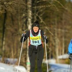 Skiing 90 km - Charlotte Berglind (5933)