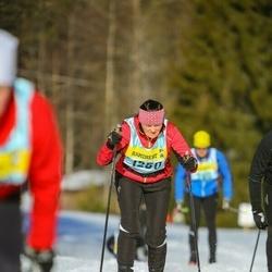 Skiing 90 km - Elisabet Allringer (12503)