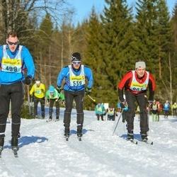 Skiing 90 km - Johan Gustavsson (4993), Andreas Carlsson (5393), Stefan Hedström (8033)