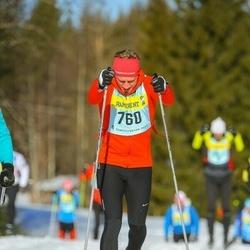 Skiing 90 km - Christian Eriksson (7603)