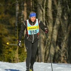 Skiing 90 km - Jenny Andersson (6503)