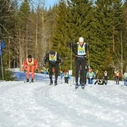 Skiing 90 km - Joakim Holback (2983), Ola Karlsson (5633), Johan Nilsson (6863)