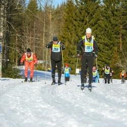Skiing 90 km - Joakim Holback (2983), Ola Karlsson (5633), Johan Nilsson (6863), Mats Kleresund (13363)
