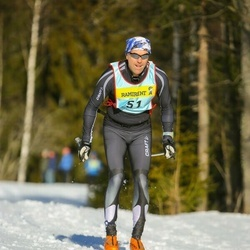 Skiing 90 km - Anders Liljenberg (513)