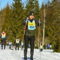 Skiing 90 km - Simon Bergman (4503)