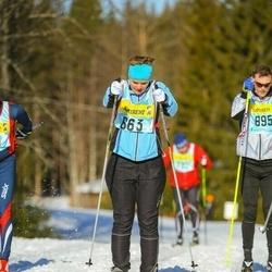 Skiing 90 km - Åsa Svanbäck (6633)