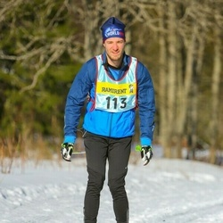 Skiing 90 km - Erik Obermayer (1133)