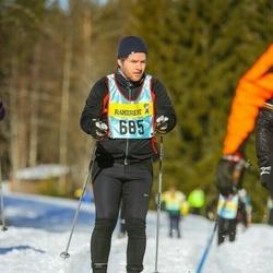 Skiing 90 km - Henrik Adamsson (6853)