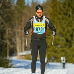Skiing 90 km - David Karlsson (8703)