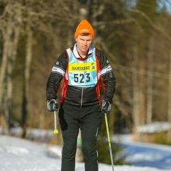 Skiing 90 km - Anders Almhed (5233)
