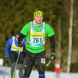 Skiing 90 km - Jens Andersson (7613)