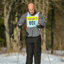 Skiing 90 km - Daniel Grossman (8073)