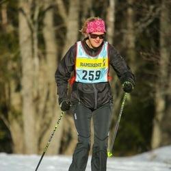 Skiing 90 km - Agneta Liesén (2593)