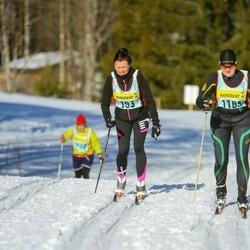 Skiing 90 km - Elisabeth Eriksson (1933), Maria Wigg (11833)