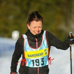 Skiing 90 km - Elisabeth Eriksson (1933)