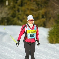 Skiing 90 km - Anne Kronander (1883)