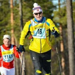 Skiing 90 km - Finn Lökken (165)