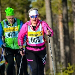 Skiing 90 km - Camilla Larsson (8635)