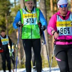 Skiing 90 km - Magnus Gunnarsson (4735)