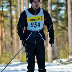 Skiing 90 km - Emil Blom (9345)