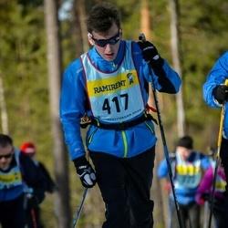 Skiing 90 km - Adrian Vikström (4175)
