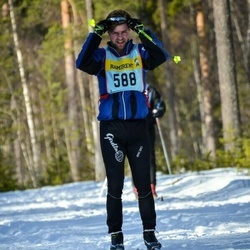 Skiing 90 km - André Larsson (5885)