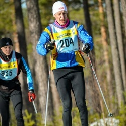 Skiing 90 km - Arne Wallenbert (2045)