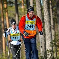 Skiing 90 km - Henrik Bertilsson (7445)