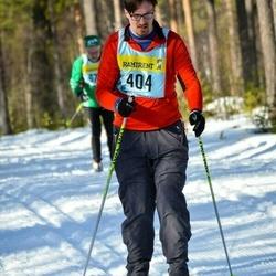 Skiing 90 km - Henrik Selin (4045)