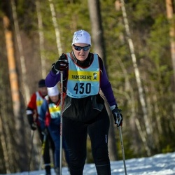 Skiing 90 km - Elin Eriksson (4305)
