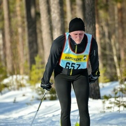 Skiing 90 km - Emil Ågren (6575)