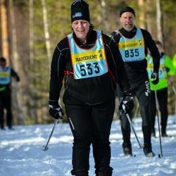 Skiing 90 km - Eleonore Mattsson (5335)