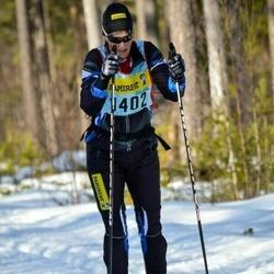 Skiing 90 km - Britt-Marie Sjögren (14025)