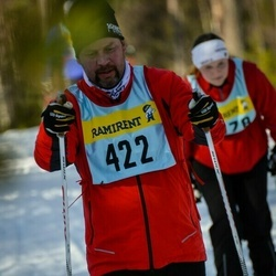 Skiing 90 km - Fredrik Ström (4225)