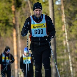 Skiing 90 km - Henric Thorsell (6005)