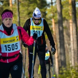 Skiing 90 km - Åke Mellin (2115)