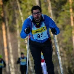 Skiing 90 km - Jeff Haskim Yousef (935)