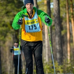 Skiing 90 km - Mikael Hedberg (1735)