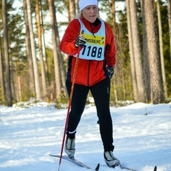Skiing 90 km - Åsa Hellström (11885)