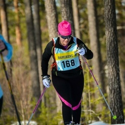 Skiing 90 km - Ingela Joelsson (1685)
