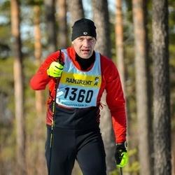 Skiing 90 km - Johan Gerhardsson (13605)
