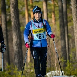 Skiing 90 km - Jennie Olsson (1615)