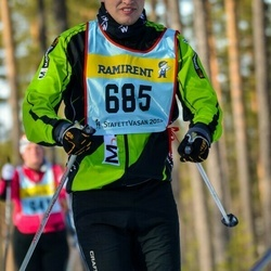 Skiing 90 km - David Svensson (6855)