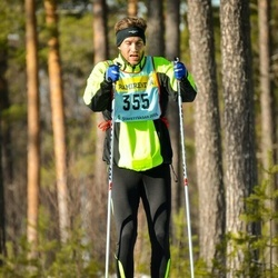 Skiing 90 km - Daniel Josefsson (3555)