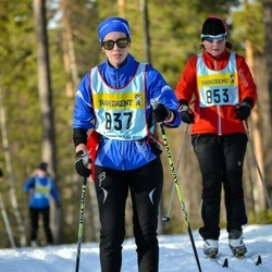 Skiing 90 km - Charlotte Andersson (8375)