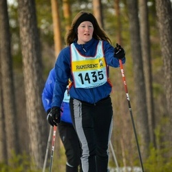 Skiing 90 km - Jennie Andersson (14355)