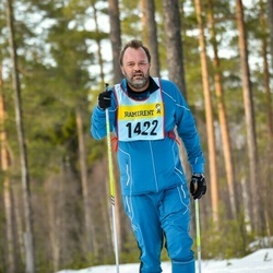 Skiing 90 km - Fredrik Nyqvist (14225)
