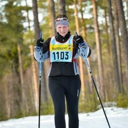 Skiing 90 km - Ulrika Hanser (11035)