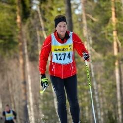 Skiing 90 km - Marie Klingspor (12745)