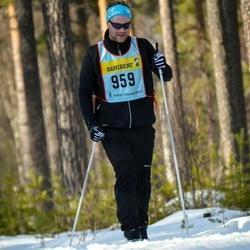 Skiing 90 km - Rasmus Skarp (9595)